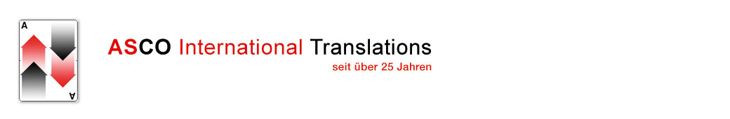 ASCO International Translations